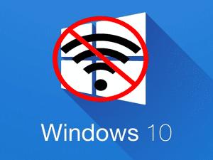 Windows 10 no wifi