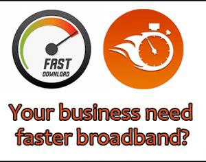 Faster-broadband